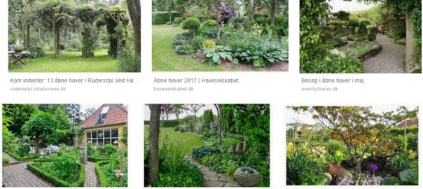 Åbne haver
